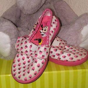 Minnie Mouse Velcro Shoes